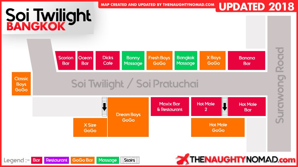 Soi Twilight Map 2018