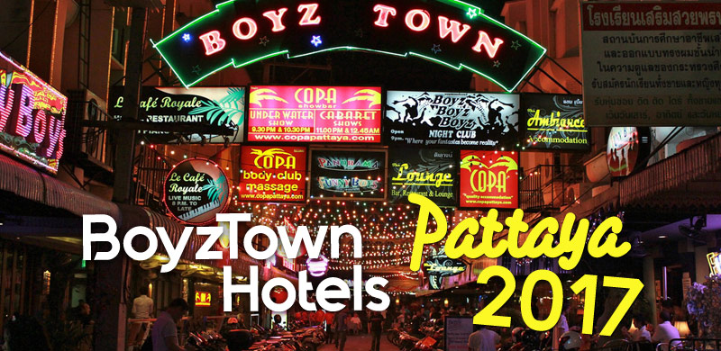 BoyzTown Hotels in Pattaya Thailand